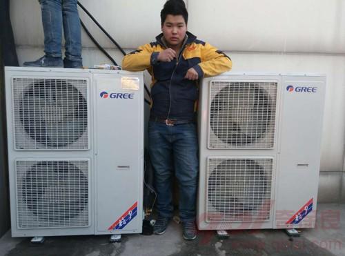 中央空调室外机安装