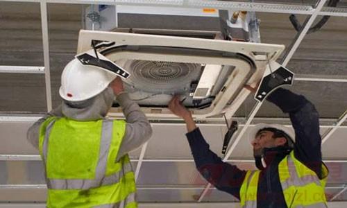 检漏主要针对空调内外机接管道的4个接口以及截止阀