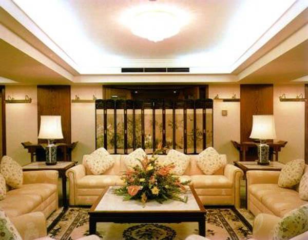 客厅安装效果图2