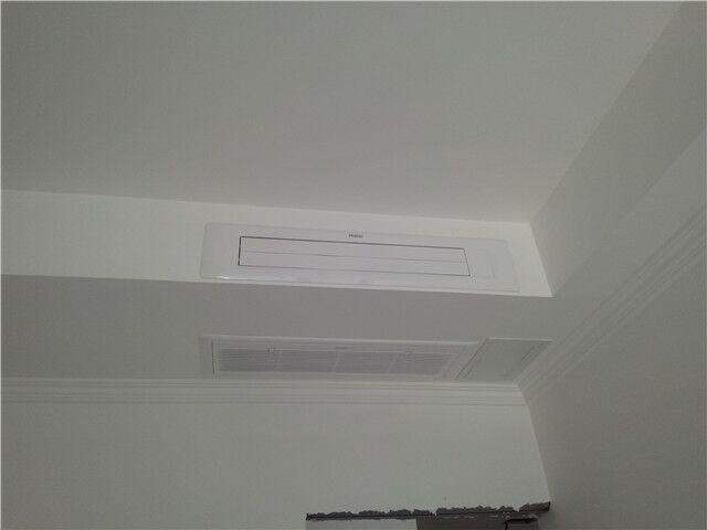 南法信中街12号院海尔MXS系列80一拖三中央空调系统安装案例