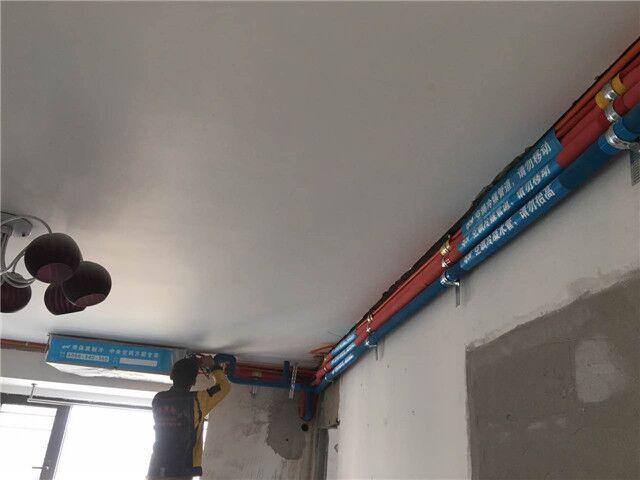 北京市西城区莲花外大街玺源台小区日立一拖三中央空调系统安装案例